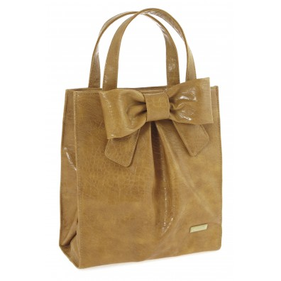 BOLSO SHOPPER GIALLO OCRE