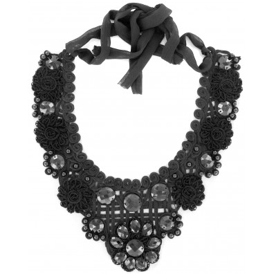 COLLAR DAVANTINO GEOMETRIC NEGRO